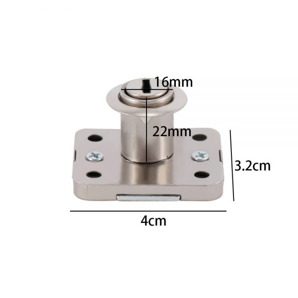 Drawer Lock For Security Door Cabinet Cylinder Door Mailbox Drawer Cupboard Locker With 2 Keys Home Safety Tools