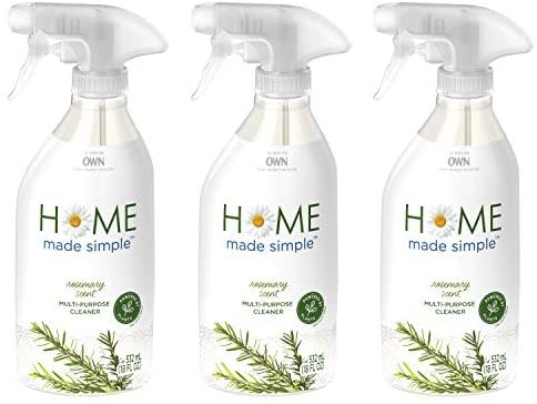 Home Made Simple All Purpose Cleaner Natural Household Surface Cleaning Spray, Rosemary Scent, 54 Fluid Ounce