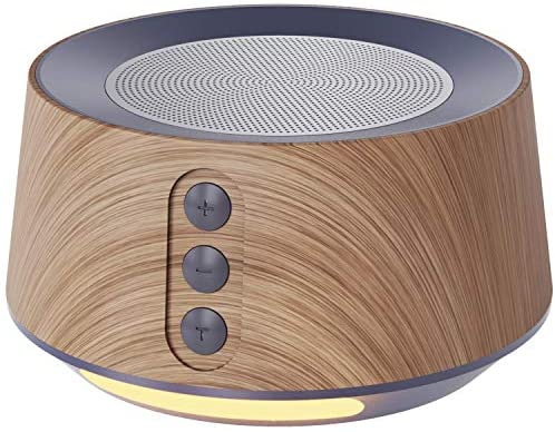 Letsfit White Noise Machine with Night Light for Sleeping, Sound Machine with 14 Soothing Soundtracks, Adjustable Night-Light Sleep Machine for Nursery, Office Privacy & Household