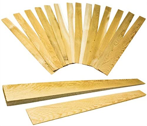 Pro Projects Extra Long 15in Tapered Cedar Wood Shims, 13 Pack. Perfect Weather Resistant Home Improvement Tool for Installing Doors, Windows, & Cabinets, Leveling Floors & DIY Remodeling Projects