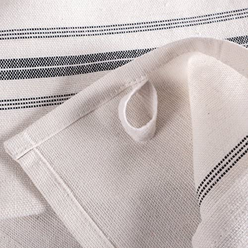 """KAF Home Classic Farmhouse Stripe Kitchen Towels 